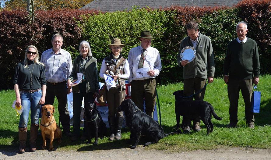 Winners & Judges Puppy Test